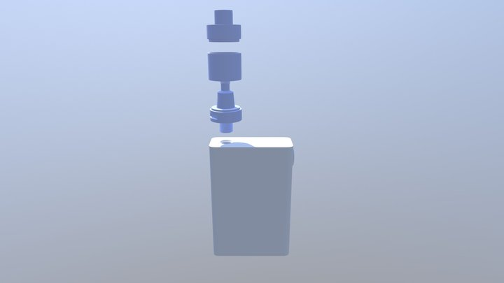 Giant Vape 3D Model
