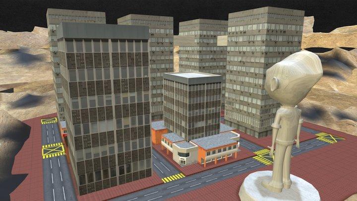 MONKEY CITY 3D Model