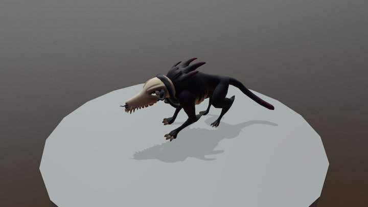 Beast Idle Anim 3D Model
