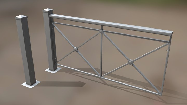 awful fence 3D Model