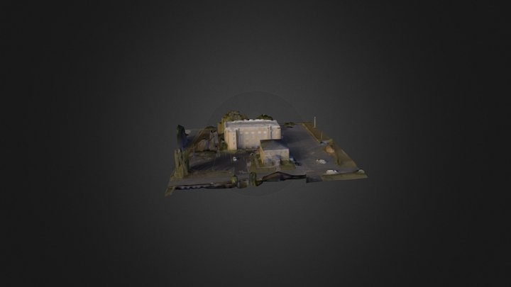 WC Old Courthouse and Jail w some processing 3D Model