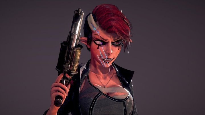 Demonpunk 3D Model