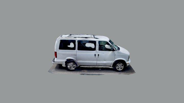 Chevrolet Astro Van v2 3D Model