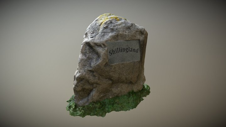 Shilingland Rock 3D Model