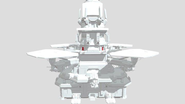 Outpost Tower (FXB) 3D Model
