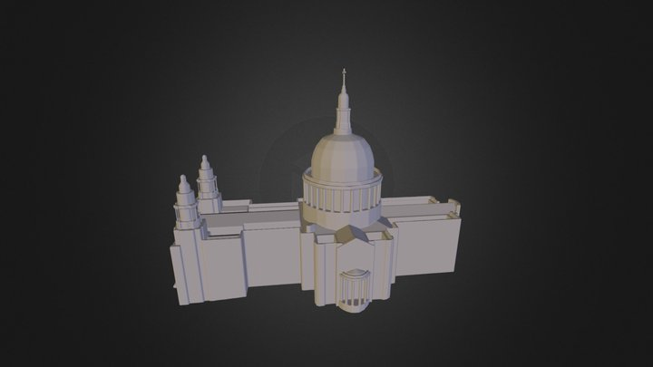 London - St Pauls Cathedral 3D Model