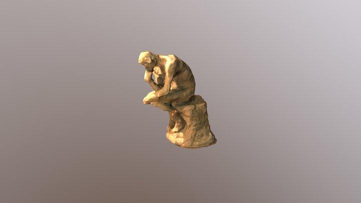 Thinker Model 3D Model
