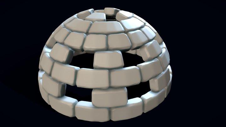 Igloo 3 3D Model