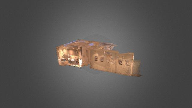 GTM Project - Room 1 - Pointcloud 3D Model