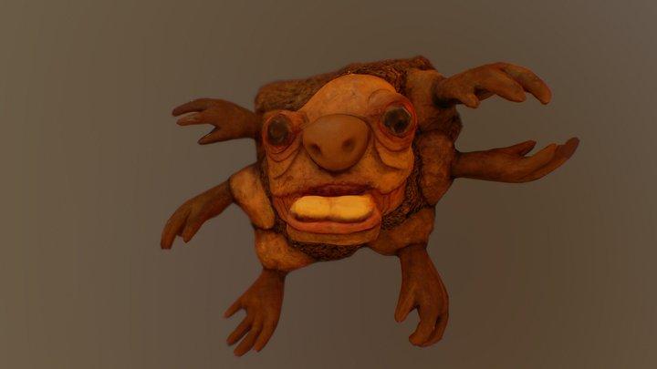 Monster baby - Inktober Build 3D Model
