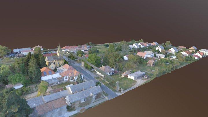 Zalacséb /részlet/ - Zalacseb detail 3D Model