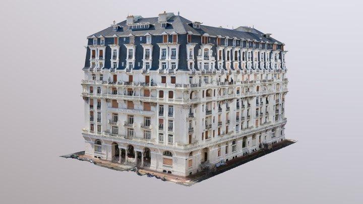 Palais des Parcs, Vichy 3D Model