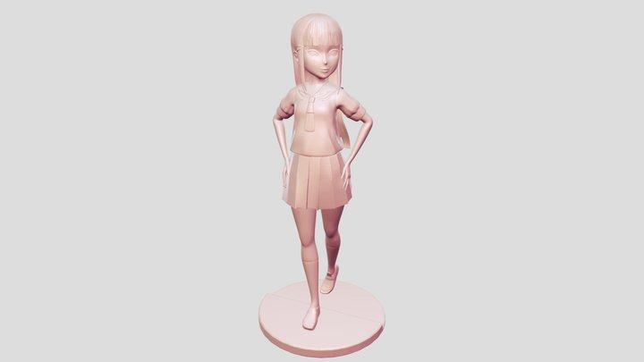 Dia sculpture 3D Model