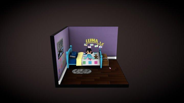 Luna 3D Model