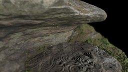 Ketley Crag rock art, Northumberland 3D Model