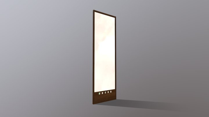 Mirror (Charles Rennie Mackintosh, 1916) 3D Model