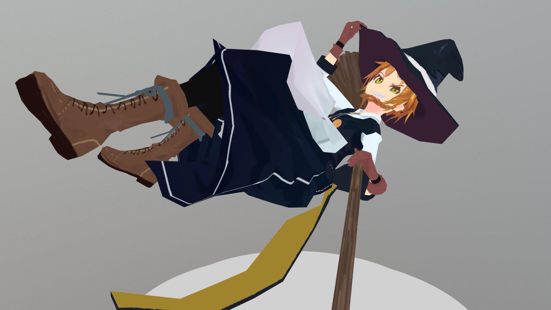 Touhou 霧雨魔理沙 Marisa Kirisame 3d Model By 白井うどん Shiroi