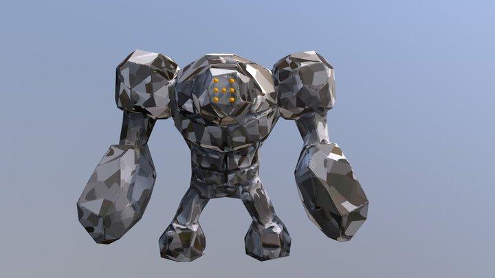 Day 5: Golem 3D Model