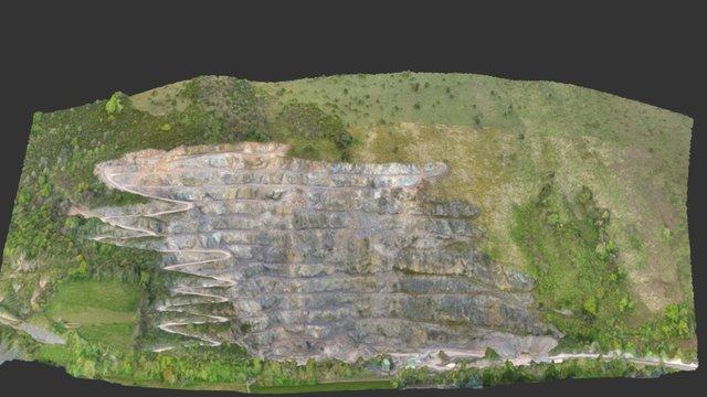 Carrière en Basse montagne 3D Model