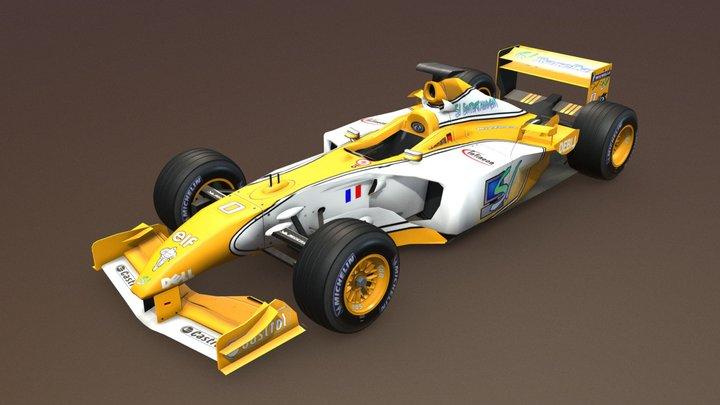 SI RaceCar RC-12 3D Model