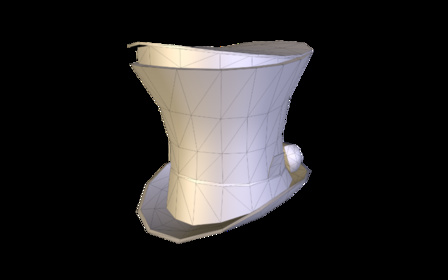Spy_Hat_Ver2.obj 3D Model