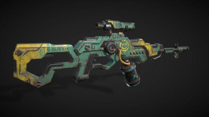 U-Rifle 3D Model
