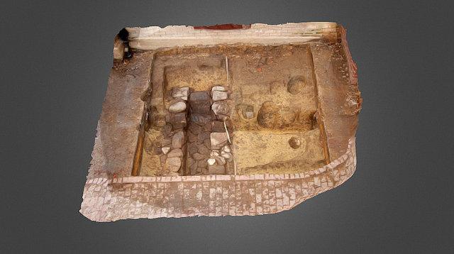 Vance Hall Excavation 3D Model