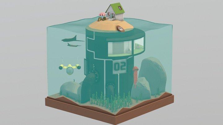 Under Water 3D Model