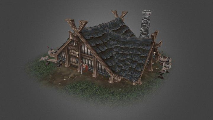 Northerner's Blacksmith 3D Model