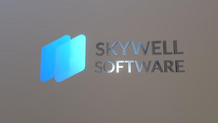 Logo Skywell 3D Model