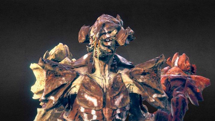 Crab Aliens 3D Model