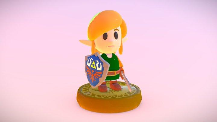 Link's Awakening Amiibo 3D Model