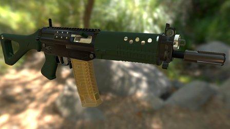 SG 553 3D Model