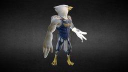Qunitus the Falcon 3D Model