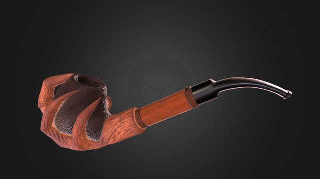Claw Smoking Pipe 3D Model