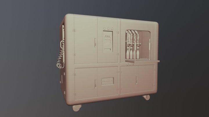 Embotelladora 3D Model