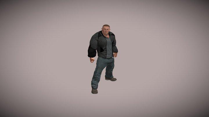 Strong Security - Gunplay 3D Model