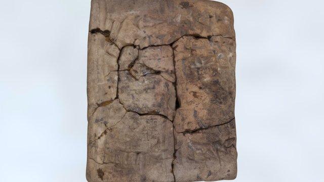 Cuneiform Tablet Envelope, Puzris-Dagan, Iraq 3D Model