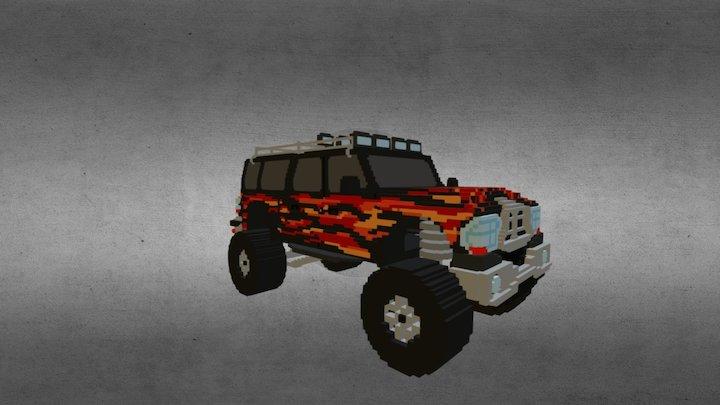 Monster Truck 02 3D Model