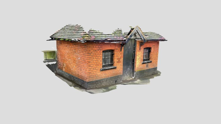 Pimlico Shed 3D Model