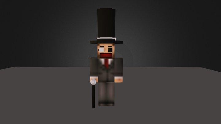 MinecraftBlenderRig.blend 3D Model