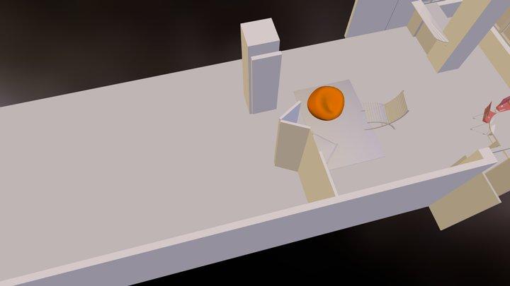 Office area2.dae 3D Model