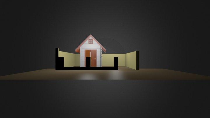 latihan rumah.blend 3D Model