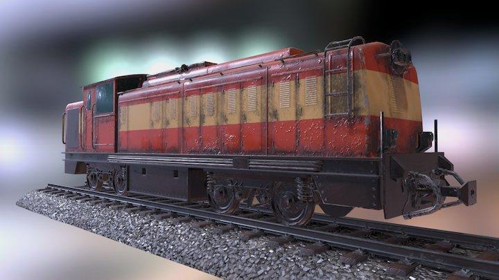 ZDM 3 Locomotive 3D Model