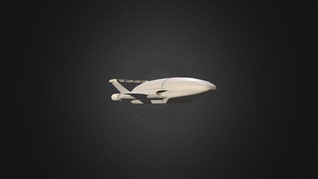 Thunderbird 2 3D Model