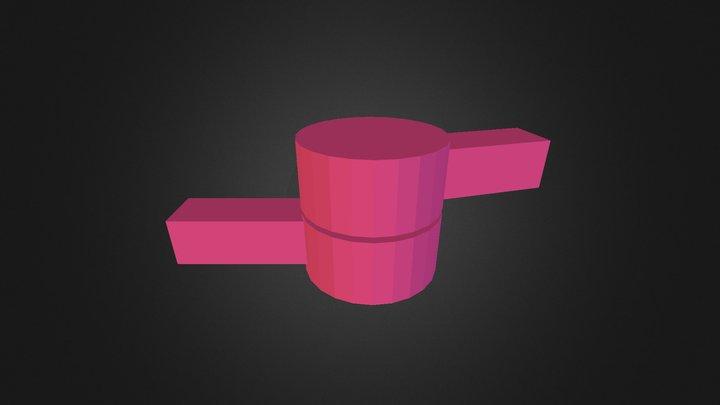 Hinge joint 3D Model