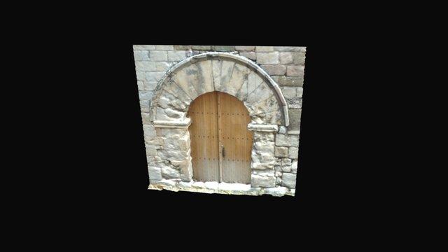 Porta eslésia de Sta Maria de Miralles 3D Model