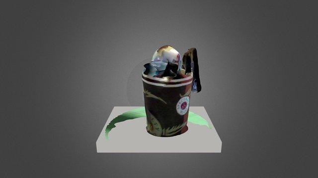 Stakan 3D Model