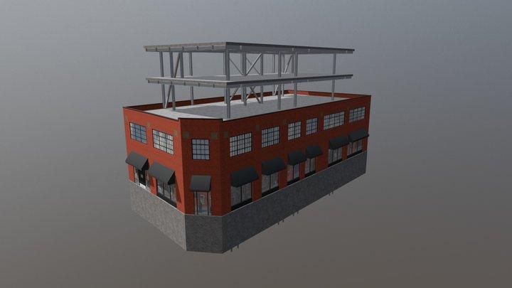601 Bank Street - Option 3 3D Model