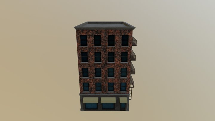 Old_building_NYC_#2 3D Model